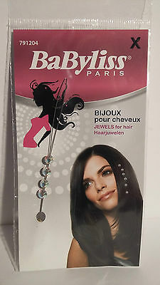 Bijoux Strass Pour Cheveux Crystal Babyliss