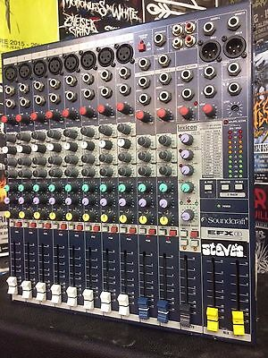 Soundcraft EFX8 8-Channel Mixer With Lexicon Effects