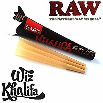 6 x Raw King Size Wiz Khalifa Cone