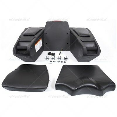 Kimpex Deluxe Trunk Passenger Seat Atv Grizzly Sportsman 158425