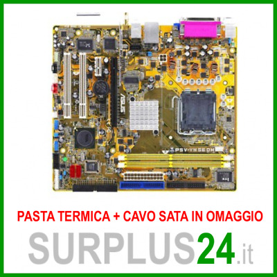 ASUS P5V-VM SE DH Socket 775 // supporta Core™2 Duo // Scheda Madre #644