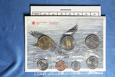 Canada 1997 Winnepeg Uncirculated Mint Set (Proof-Like) -With Envelope and COA 1