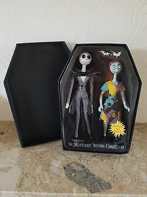 Nightmare before Christmas Jack and Sally porcelain dolls