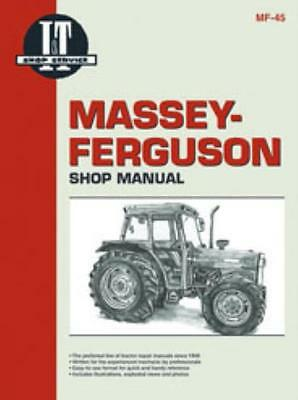 I&T Workshop Manual Massey-Ferguson MF362 MF365 MF375 MF383 MF390 MF390T MF398