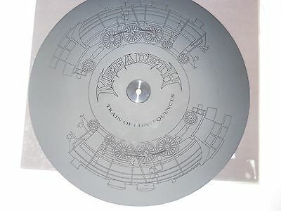 """Megadeth - Train of Consequences Ltd Ed 12"""" Etched Disc"""