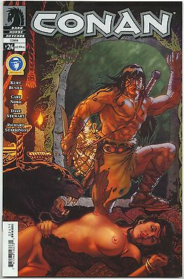 Conan #24 Rare Linsner Nude Woman Variant Cover Dark Horse Conan the Barbarian