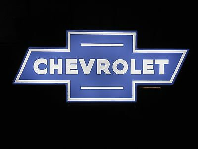 Chevy Bowtie Lighted Sign