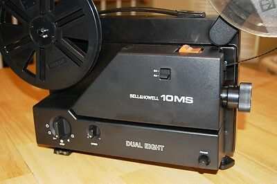 Super 8 Regular 8 Dual 8 VARIABLE SPEED MOVIE PROJECTOR...MINT IN BOX...!!!
