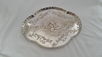 Sterling Silver Dressing Table Tray, 1905 Chester