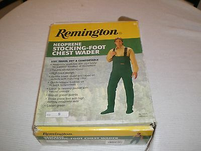 Remington Neoprene Stocking-Foot Chest Waders mens size small