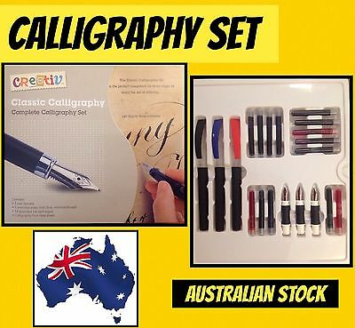 Classic Calligraphy Set. SYDNEY STOCK.FAST DELIVERY