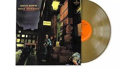 DAVID BOWIE Ziggy Stardust And The Spiders From Mars LP GOLD Vinyl PREORDER New