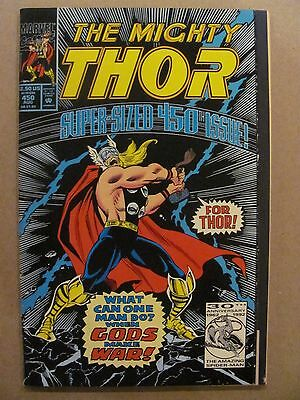 Thor #450 Marvel 1966 Series Flip Book reprints 1st app Loki 68pgs 9.2 NM-