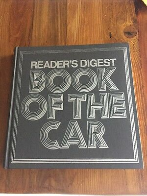 Reader's Digest Book Of The Car Near New Condition!