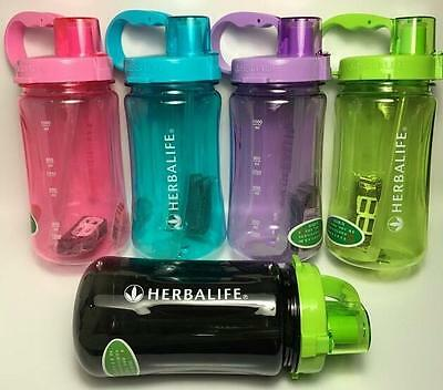 2000ML/64OZ Large Herbalife Water Bottle Cup Outdoor Sports Tritan Drink Cycling