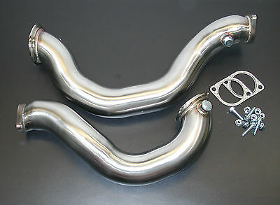 New!Catless Downpipe for BMW 135i,1M,e9X w/N54 motor