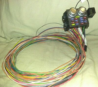 Jegs Universal Wiring Harness wiring kits, electrical components, auto performance parts VW Wiring Harness Kits at aneh.co