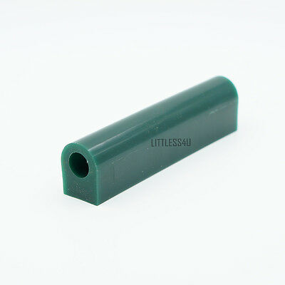 1x Wax Ring Tube Mold Carving Flat Top Jewelry Making Jewelers Tools Green Multi