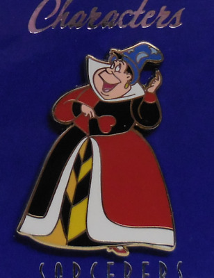 Disney Pin WDI Characters Sorcerer's Hat Queen of Hearts Pin LE250
