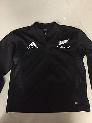 Adidas New Zealand All Blacks rugby union jersey