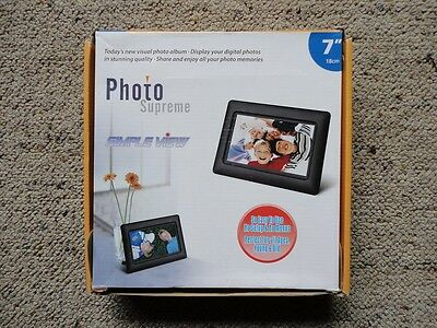 Digital LCD Photo Frame 7 Inch (18cm) - New, Never Used