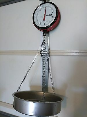Vintage Chatillon 027/A III 20lbs x 1/2 oz Hanging Produce Scale