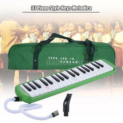 QIMEI QM37A-7 37 Piano Style Keys Melodica Musical Instrument Green N8D9
