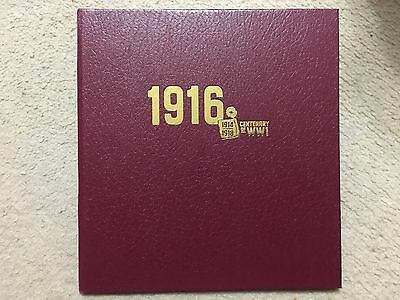 Australia  2016  Centenary of WW1 1916 Gold Minisheets Collection 41/250 (SW17C9