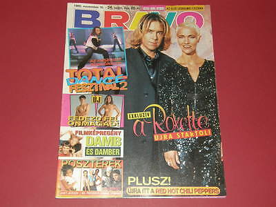 ROXETTE cover Hungarian magazine 1995 Janet Jackson Red Hot Chili Peppers