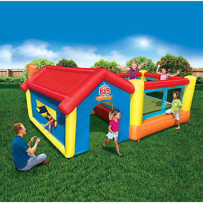 Inflatable Bounce House Big Bouncer Castle Jump Jumper Kids Outdoor Backyard Fun