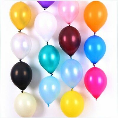 PLAIN LATEX BALONS BALLONS helium BALLOONS Quality Birthday Wedding BALOONS