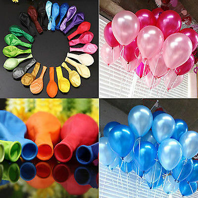 PLAIN Latex BALONS BALLONS helium BALLOONS Quality Birthday Wedding