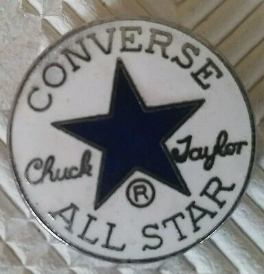 Converse All Star Badge, Broche, Pins, Chuck Taylor / Mint