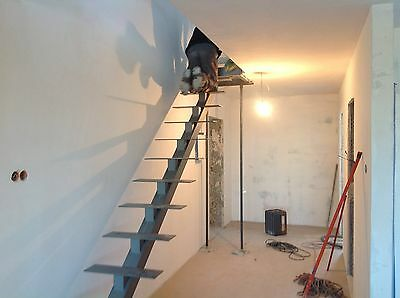 solid steel internal staircase construction