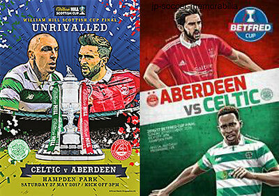 Celtic v Aberdeen - Scottish & League Cup Final - 27 November 2016 & 27 May 2017