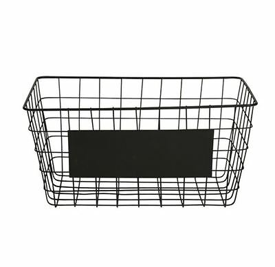 Blackboard Basket Storage Sorter Organizer Bathroom Brand New Free Shipping