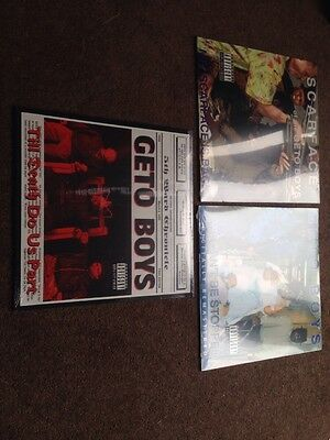 3 New Sealed Geto Boys Albums Rap Hip Hop Vinyl Records