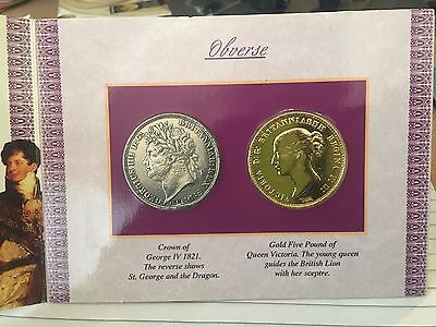 1821 KING GEORGE IV coin pack
