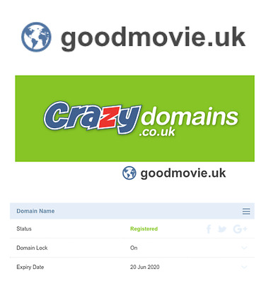 Goodmovie.uk Domain Name