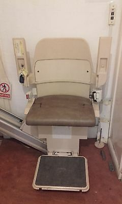 Stannah Stairlift Model 230. Serviced & Fully Working
