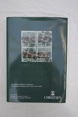 The Ryohei Ishikawa Collection. US Stamps & Covers 1847-69. Christies 1993