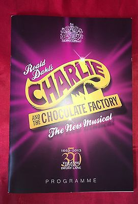 Charlie And The Chocolate Factory Musical Souvenir Programme  - VGC