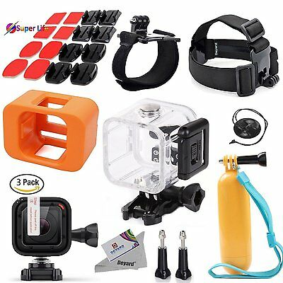 27 Pcs Accessories Bundle GoPro HERO5 Session Action Camera Floaty Head Mount