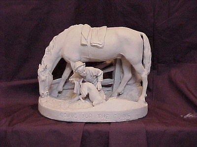 """John Rogers Group of Statuary """" Going For The Cows """""""