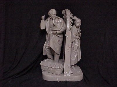 "John Rogers Group of Statuary "" The Foundling ""  Very Rare !!"