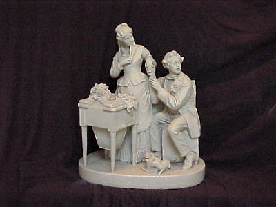 John Rogers Group of Statuary 'The Tap On The Window'
