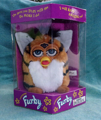 Original Furby Tiger 1998 Collectors Quality 1st Edition New 70 800