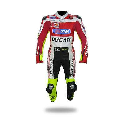 **new** Ducati Racing Leather Motorbike Suit [Premium Quality] Cowhide Leather!