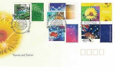 Australia 2000 First Day Cover - Nature and Nation