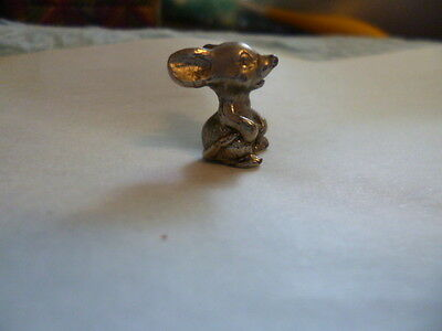 pewter Mouse  very small